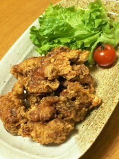 中華風★バリバリ衣の鶏唐揚げ