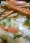 冬味♪蟹すき鍋☆蟹鍋