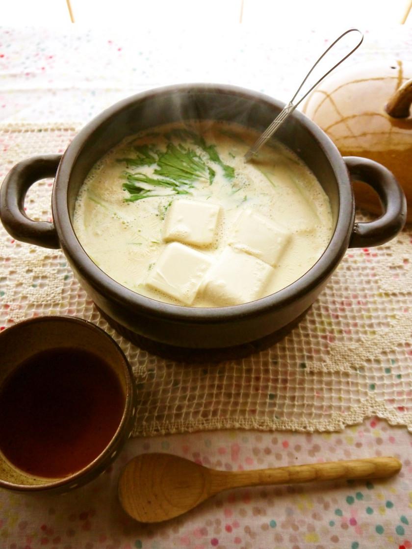 とろとろ*豆乳湯豆腐