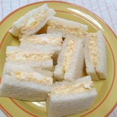 ツナとタマゴのサンドイッチ