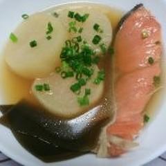 鮭と大根のほっこり煮♪