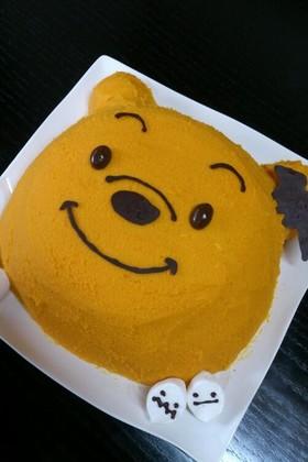 ハロウィン☆プーさんケーキ