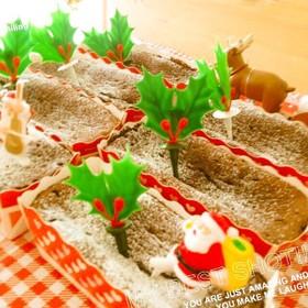 クリスマスに♡ココアだけでガトーショコラ