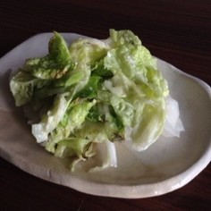 簡単白菜の塩麹漬け