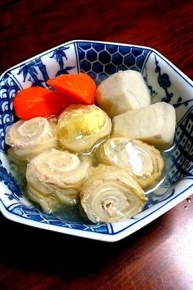 豚ロール白菜と里芋のポトフしょうが餡がけ