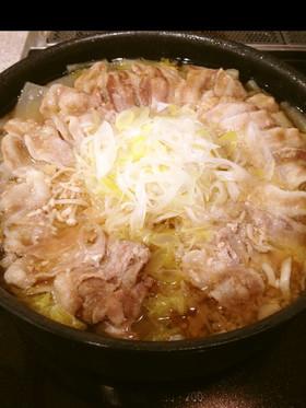 絶品スープ☆豚生姜(しょうが)鍋