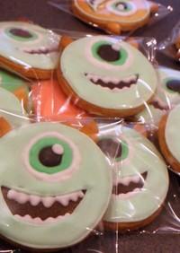 簡単♪マイクのアイシングクッキー♡