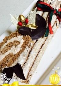 クリスマスケーキ☆ブッシュドノエル