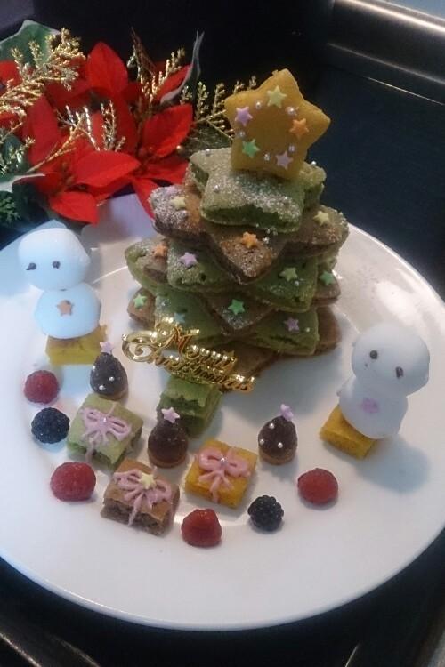 ★クリスマスツリーケーキ☆