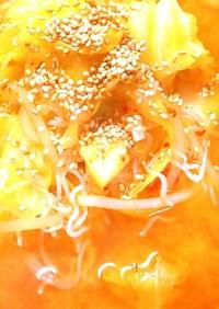 ダイエットにキムチスープ麺