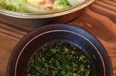 簡単絶品ニラダレ☆白菜のミルフィーユ鍋に