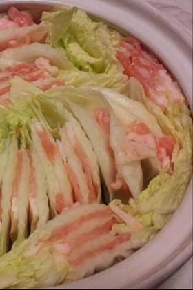 簡単!!白菜と豚肉のミルフィーユ鍋