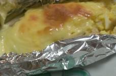 鮭のホイル焼き~絶品チーズ風~