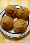 きな粉と甘納豆のマフィン