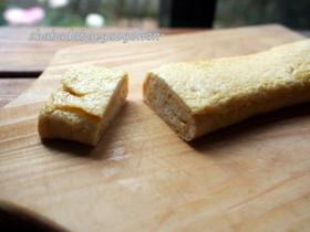 お弁当に♪ふわふわ豆腐玉子焼き