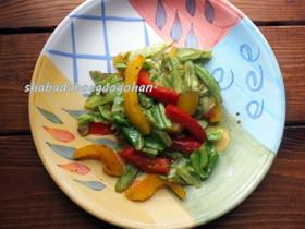 お弁当に♪野菜のマヨカレー炒め