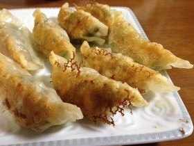 家族みんなが喜ぶ絶品☆肉シソ餃子