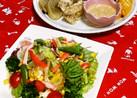 野菜サラダ✩自家製胡麻ドレッシング