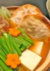 アイデア鍋!チーズ入り納豆餃子チゲ鍋!