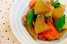 里芋とごぼうと大根の簡単煮物