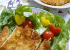 フライパンで作る 簡単チーズのチキンカツ