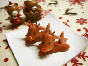 ウインナーでトナカイさん☆クリスマス☆