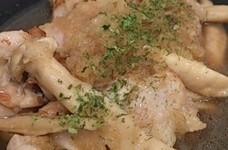 鶏とエリンギのみぞれ煮