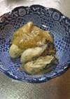 牡蠣のガーリックバター炒め 白味噌のせ