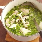手羽元と豆腐のしょうがスープ