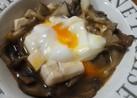 ご飯に合う!レンジで☆豆腐と卵の煮物風☆