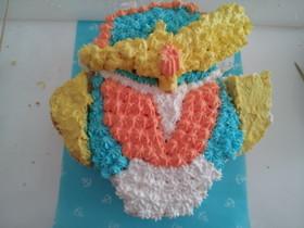 仮面ライダー鎧武のケーキ