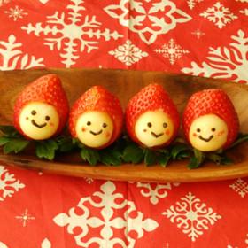 クリスマスケーキにも♪いちごちゃん♥