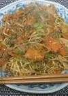 まるちゃん正麺で汁なしジャージャー麺