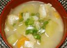 母の味♡さつま芋のお味噌汁