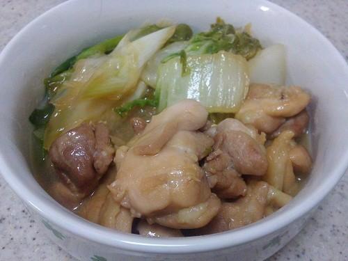 鶏肉のすき煮