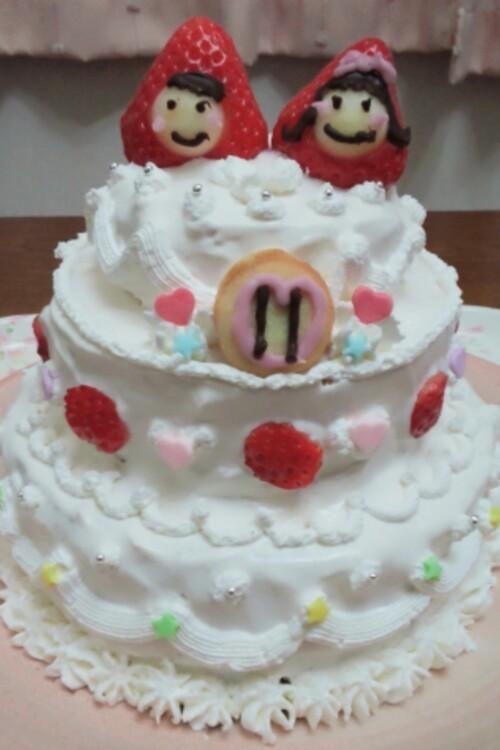 ♡ミニウエディングケーキ♡