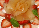 林檎の薔薇 レア チーズ ケーキ