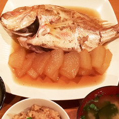 母の味 白身魚の煮付け