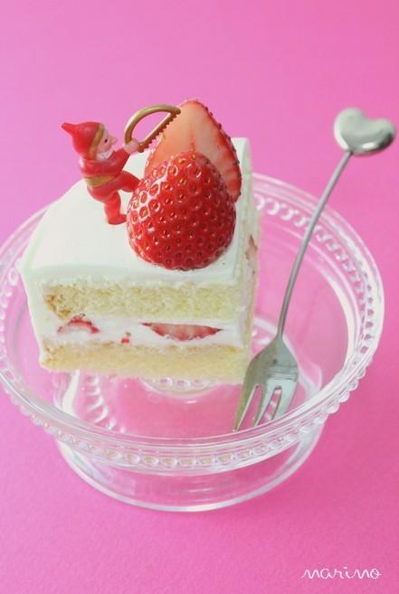 2人用クリスマスケーキ★苺ショートケーキ