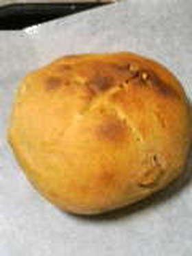 リンゴの天然酵母パン