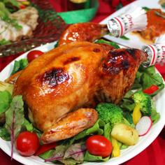 ローストチキンの切り方★クリスマスチキン