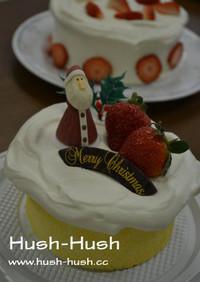 簡単すぎなデコ!★手作りクリスマスケーキ