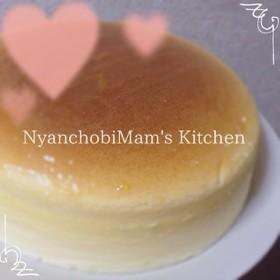 簡単なのにお店の味☆スフレチーズケーキ