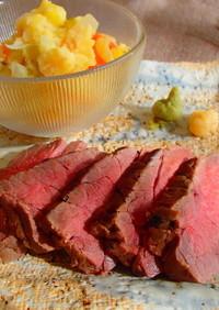 安いお肉で絶品!ローストビーフ