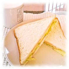 簡単ホット?サンドイッチ