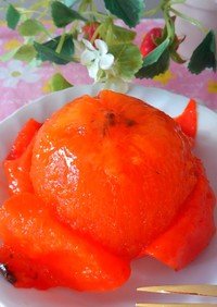 母の味 焼酎柿✨渋柿を甘く✨