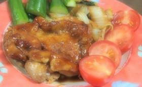 フライパンで簡単☆鶏肉と白菜のソテー