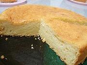 豆腐ケーキの写真