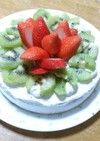 シンプルショートケーキ