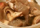 コンニャクと椎茸の生姜炒め煮
